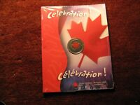 2004 Canada Day Coloured 25 Cent In RCM Set.