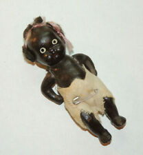 Black Composite Clay Doll Movable Parts  (15229)