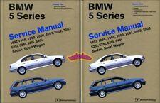 BMW SHOP MANUAL SERVICE REPAIR BOOK E39 97-03 5-Series E-39