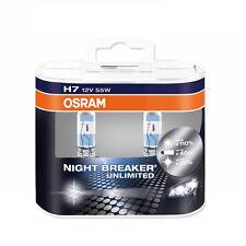OSRAM Night Breaker Unlimited H7 64210NBU Globes Halogen Headlamp Headlight Bulb