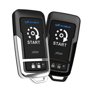 Omega Car Electronics RS272 Excalibur 1500 Feet 1+1 Button Remote Start Keyless