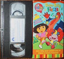 Dora The Explorer: SUPER SILLY FIESTA (vhs) VERY GOOD COND. Nick Jr. Rare. NR