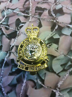 Army Catering Corps Cap Badge Queens Crown ACC