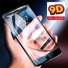 9D Gorilla Black Full Cover Tempered Glass Screen Protector For Apple iPhone X