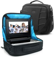 Portable DVD Player Headrest Car Mount Case with Accessory Pockets by USA GEAR