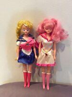Rarissime bambole sailor moon e sailor moon chibiusa vintage da collezione