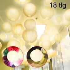 10er ziseliert Papier Laterne Lampions Papierlaterne Deko Feier Party 20//25//30cm