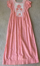 Vintage 70's India Imports Dress Hippie Boho Sz Small Prairie