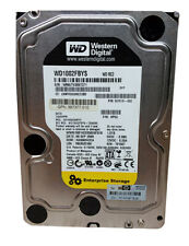 "Lot of 2 Western Digital HP WD RE3 WD1002FBYS 1TB 3.5"" SATA II Enterprise Hard"