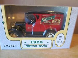Vintage ERTL/ANHEUSER-BUSCH 1:25 Scale Die Cast 1923 Truck Bank~1992~New in Box!