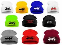 Men Women Winter Beanie Hat ANT Casual Hats The Day Is MY Enemy Cap Baggy Ants