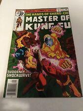 Master of Kung Fu #72 (Jan 79, Marvel) January 1979 Shang Chi