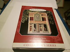 GROCERY STORE Hallmark Nostalgic Houses and Shops 1998 Number 15