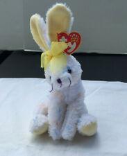 "6"" Ty Beanie Baby Carrots White Polka Dot Bunny Rabbit Hare Bean Bag Plush 2001"