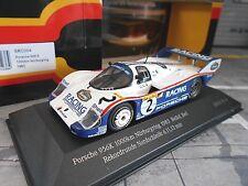 PORSCHE 956 K 1000km Nürburgring 1983 Bellof Rekordrunde #2 Record IXO Edit 1:43