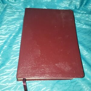 NIV Large Print Life Application Study Bible Indexed Brown Leather Zondervan