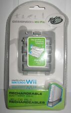 MAD CATZ NINTENDO WII FIT BALANCE BOARD RECHARGEABLE BATTERY PACK NIP