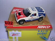 NINCO 50403 SLOT CAR VOLKSWAGEN VW TOUAREG SALON HOBBY 2005 LTED.ED  MB