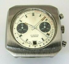 Valjoux 7734, chronograph case with dial and hands. NEW OLD STOCK, swiss made