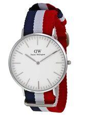 Daniel Wellington Watch * 0203DW Classic Cambridge White Dial NATO Strap