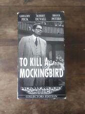 To Kill a Mockingbird Vhs, hollywood classics collectors edition
