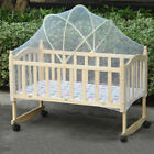 Baby Infant White Crib Mosquito Net Large Arch Cradle Bed Mosquito Net