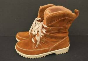 Sorel Meadow Womens Mid-Cut Lace-Up Boot - Size 9.5 (US)