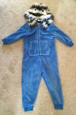 NEXT Snuggle Fleece Cozy All In One Pyjamas  Size 4-5 years