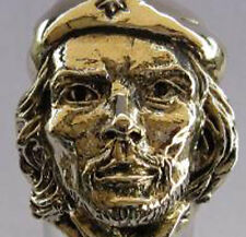 Bronze Che Guevara Ring Custom Size Handmade Author Poet Guerrilla Leader R-55b