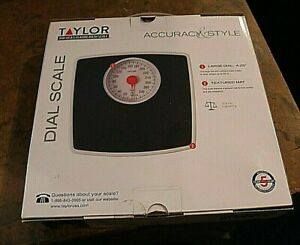 """TAYLOR ACCURACY DIAL SCALE """"NEW in box"""" up to 330 pounds"""