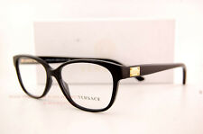 Brand New VERSACE Eyeglasses Frames 3177 GB1 Women Black 100% Authentic