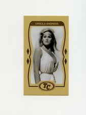 #LK.0674 URSULA ANDRESS Anti Tobacco NO SMOKING Trade Card RARE