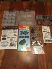 Clear Stamps Lot 8 Packs Christmas Halloween Travel Letters And More