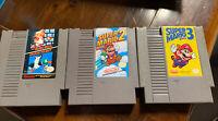 Super Mario Bros./Duck Hunt 1 2 3 Trilogy + Mario Mania Guide For Nintendo NES
