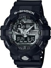 BRAND NEW CASIO G-SHOCK GA710-1A ANA-DIGI BLACK-SILVER MENS WATCH NWT!!!