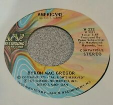 Byron Mac Gregor The Westbound Strings – Americans / America The Beautiful (M-)