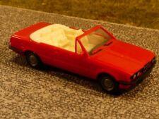 1/87 Herpa BMW 3er E30 Cabrio rot