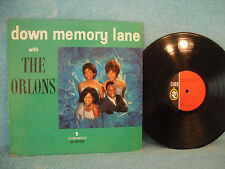 Down Memory Lane With the Orlons, Cameo C 1073, 1964, Doo Wop /Funk /Soul / R&B