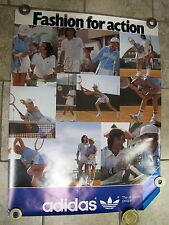 "Vintage ADIDAS Advertising Poster ""Fashion for Action"" All-Sports People"