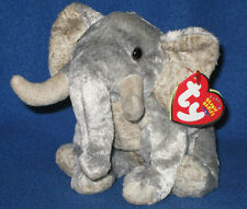TY BAHATI the ELEPHANT BEANIE BABY - MINT with MINT TAGS  - WWF EXCLUSIVE