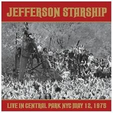 Jefferson Starship: Live in Central Park NYC May 12, 1975. 2CD Set Rock Psych