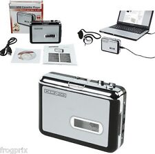 LECTEUR CONVERTISSEUR DE CASSETTE AUDIO AU FORMAT MP3 VIA PORT USB Plug and Play