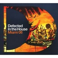 VARIOUS - MIAMI 2008-DEFECTED IN THE HOUSE 3 CD NEU