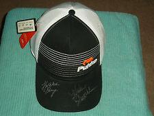 Kathleen Ekey & Mallory Blackwelder Hand Signed Pukka Hat New LPGA Autograph