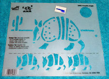 Armadillo Knight  Simply Stencils By Plaid # 28606 Shirt Stencil Wall Stencil