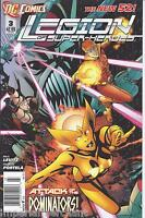 Legion of Superheroes Comic Issue 3 The New 52 Modern Age First Print Levitz
