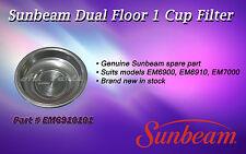 SUNBEAM COFFEE MACHINE EM6900 EM6910 ONE CUP FILTER EM6910101