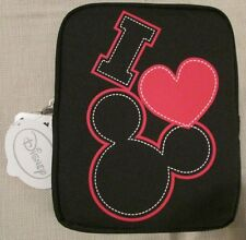 DISNEY I LOVE MICKEY MOUSE Universal Tablet Cover Case Black NEW NWT