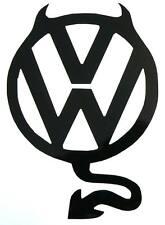 adesivo Volkswagen devil auto diavolo diavoletto sticker decal gti golf polo