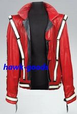 NEW!! Michael Jackson History World Tour Thriller Red Leather Jacket on show!!